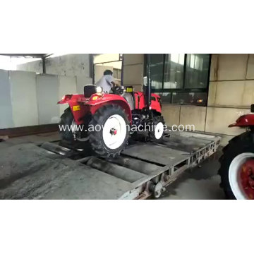 Professional Cheap 60HP Farm Tractor with Grapple Bucket