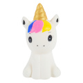 New Squishy Cute Unicorn Simulation Animal Doll PU Bread Slow Rising Scented Soft Squeeze Toy Stress Relief for Kid Xmas Gift