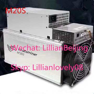 Used WhatsMiner M21S 54T miner M21S Sha256 miner Asic BTC BCH BCC Mining machine