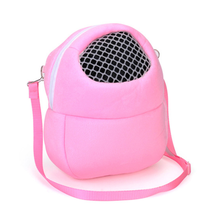 1pc Small Pet Carrier Hamster Chinchilla Travel Warm Bags Cages Guinea Pig Carry Pouch Bag Breathable Small Animals Cages