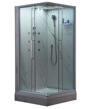 European Style Whirlpool Steam Shower Cabin