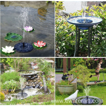 Solar Underwater Light Fountain