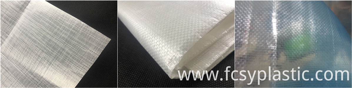 different weight woven film