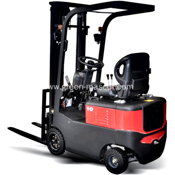 Best Selling 4 Wheels Battery Type Electric Forklift