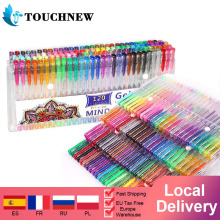 Gel Pens for Adult Coloring 24 to 120 Colors Set with Glitter Metallic Neon Pastel Swirl Colors, Also Perfect Coloring Set