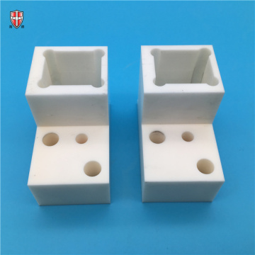 custom design machinable alumina ceramic structural parts