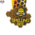The gold bee metal medal best price