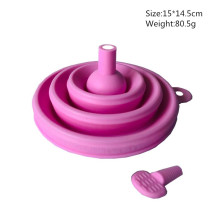 silicone wide mouth funnel