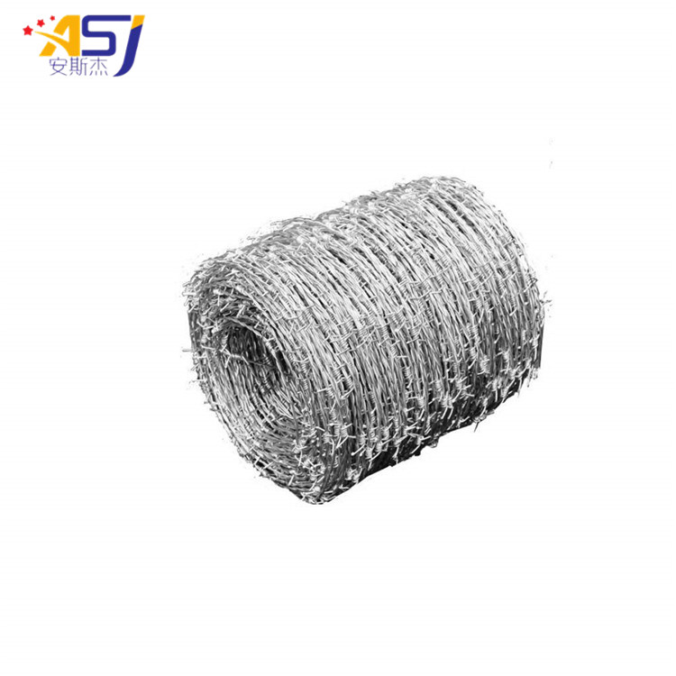 hot dip galvanized weight of barbed wire per meter length