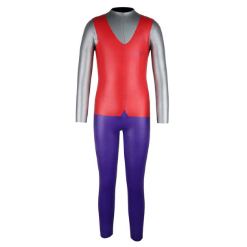 Seaskin Back Zipper Red Color Diving Wetsuits