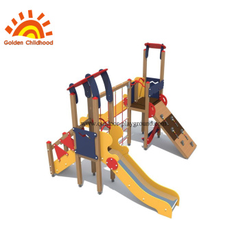 HPL Outdoor Playground Panel Climbing Slide