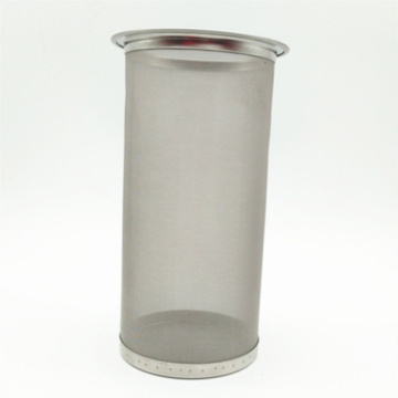 Stainless steel beer candle filter element
