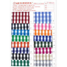 ZW series cotton checked cloth