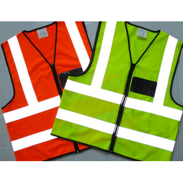 Yellow Orange Green Blue All Available Road Safety Visible Vests