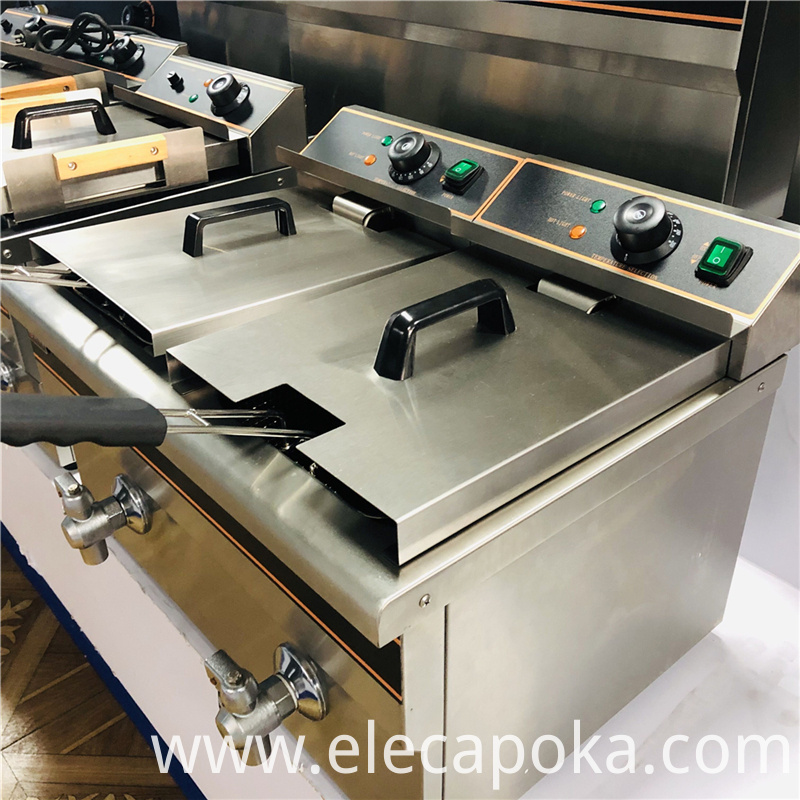 commercial chicken deep fryer