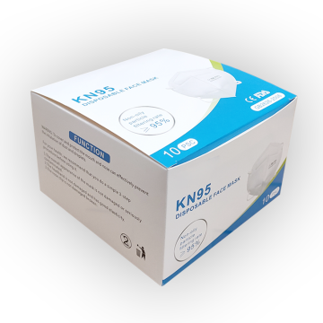 KN95 Customized Medical Mask Packaging Box