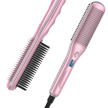 Rifny silvercrest hair straightening brush