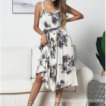 Women Casual Slip Summer Dress