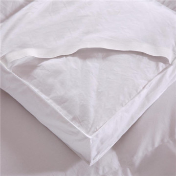 Polyester Down Alternative Mattress Pad Topper Cover