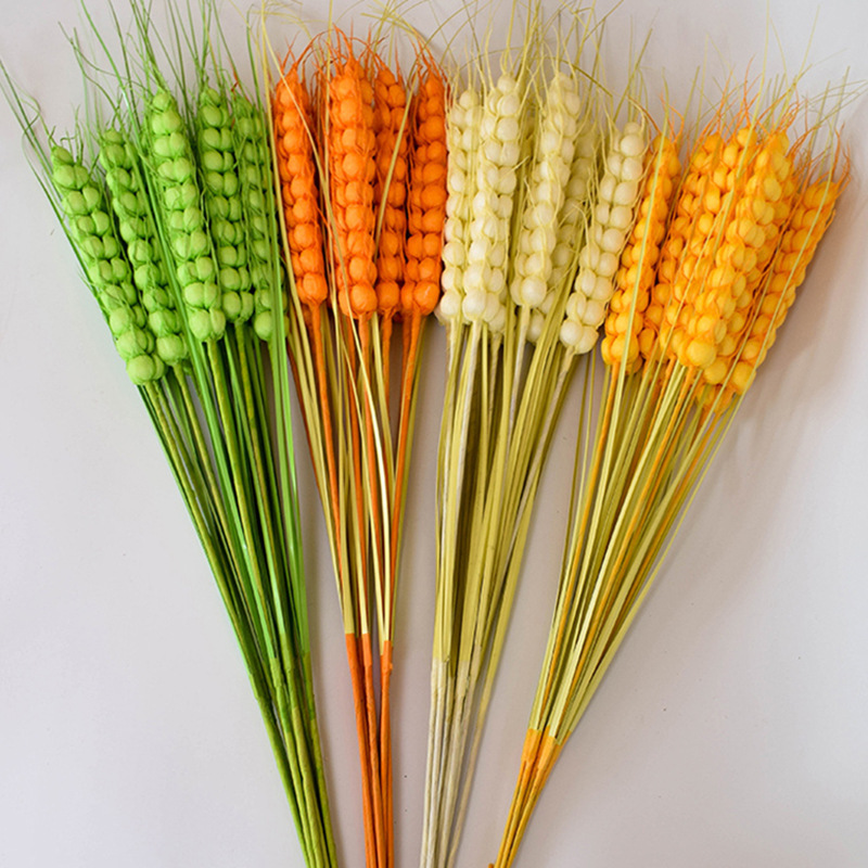 Will Ear Of Wheat Home Practice Gift Dried Flower Eternal FLOWER Wheat Barley Countryside A Living Room Bedroom Decoration