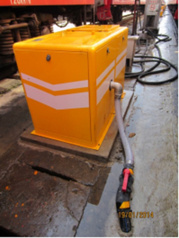 Custom Vacuum Ground Sewage Discharging System