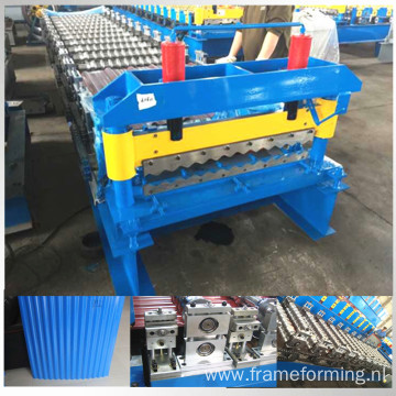 Corrugated roof rolling forming machine