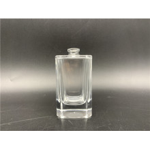 50ml clear square perfume bottle