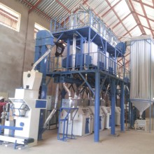 50 TPD automatic maize flour mill machinery