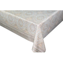 Transfer Printing Tablecloth  walmart with Silver/Gold