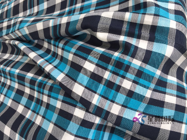 Fashion Yarn Dyed Plaid Fabric For Shirt