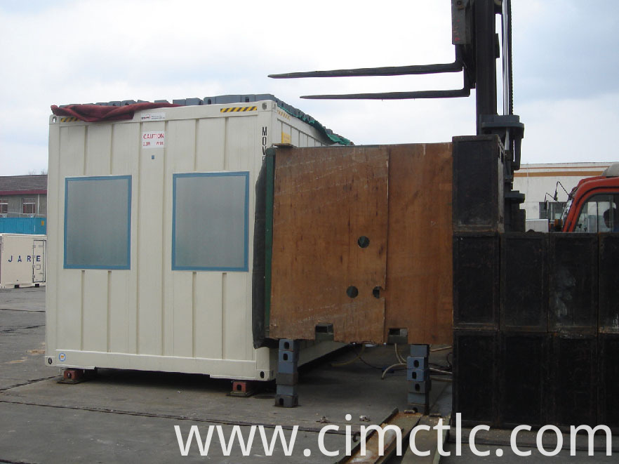 wind loading test for Modular Family House Container Type
