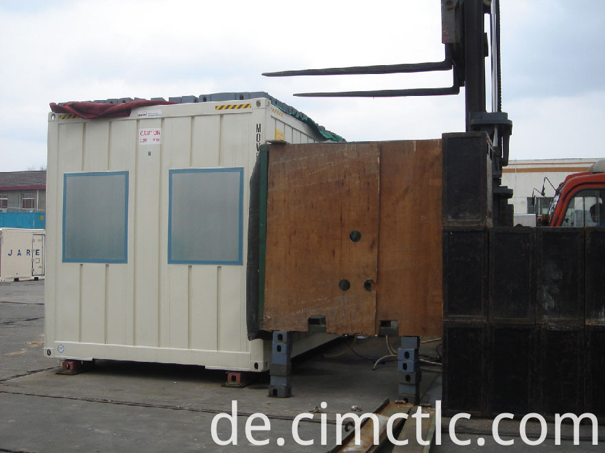 wind loading test for Modular Accommodation Building Container Type