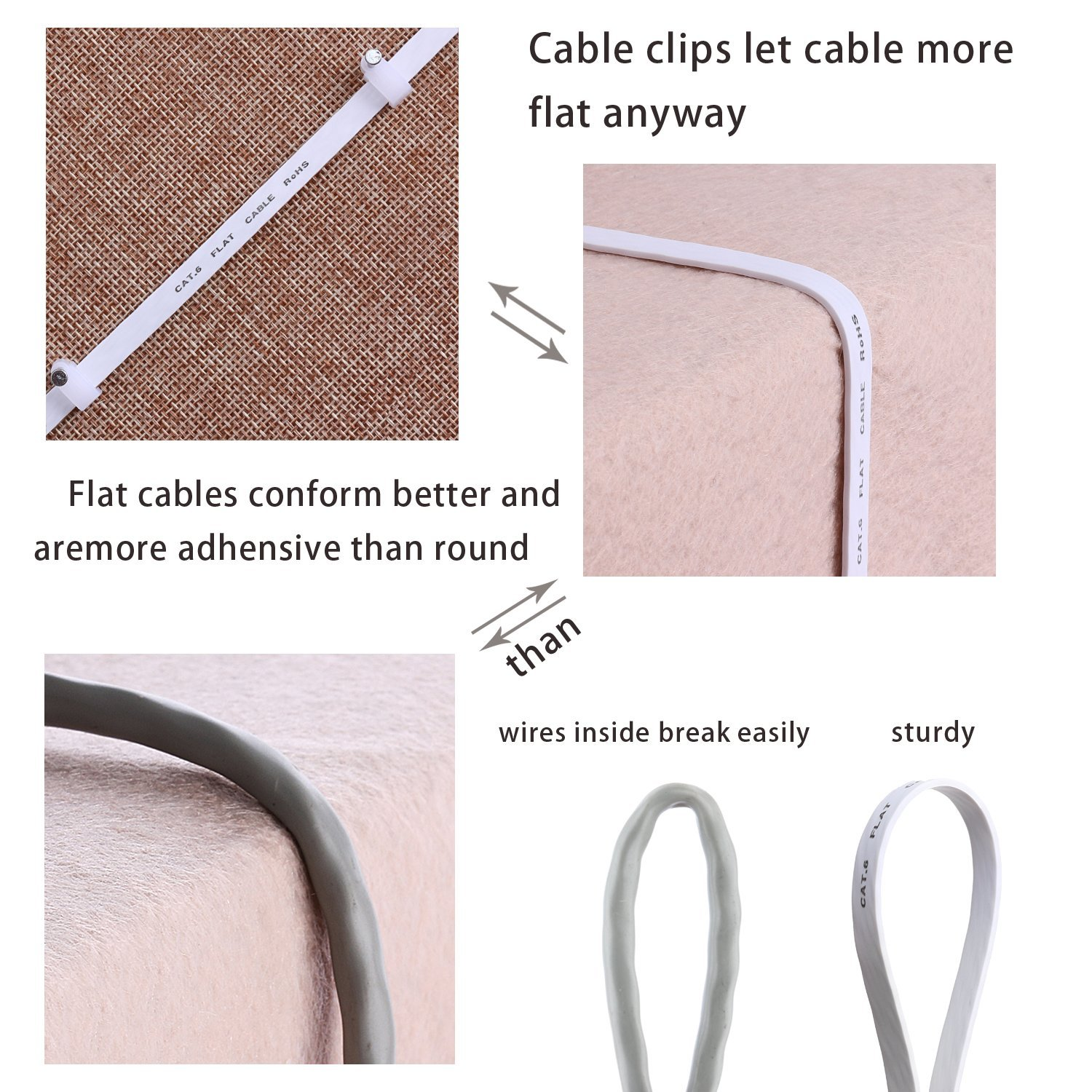 CAT6 FLAT Patch cable-6