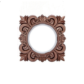 Dark Coffee ABS Material Curtain Ring