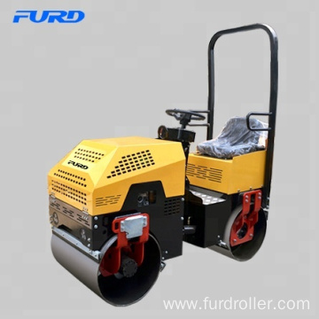 FYL880 Fast Delivery Mini Driving Road Roller for Asphalt Compaction