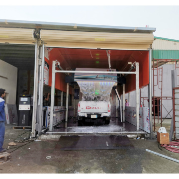 Touch free automatic Eco car wash franchise