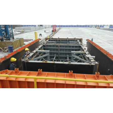 Pipe Gallery Tunnel Trolley Formwork System