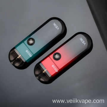 Battery 2ml Refillable Vape Pod For 5 Colors