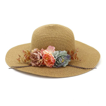Cheap summer hat premium cap beach straw hat
