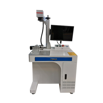 Desktop High Accuracy 100W CNC iron Fiber Laser carving Machine