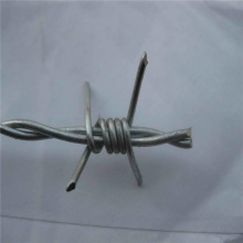 Galvanized 2mm double twist barbed wire roll for sale