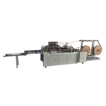 cold glue twisted paper rope handle making machine