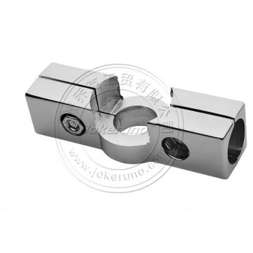 strong 25mm chrome tube shop fittings