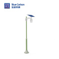 Apple Solar Garden Outdoor LED Wall Light