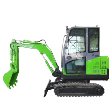 Small Hydraulic Excavator For Garden 2 Ton Mini Crawler With Closed Cabin Micro Diggers 2.5ton Mini_excavator_china