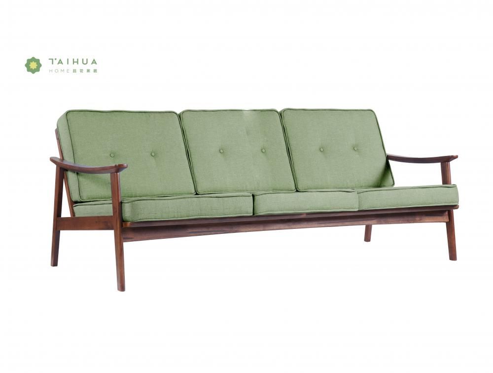 Green 3 Seater Sofa