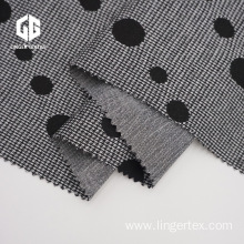 Spot Cotton Nylon Polyester Knitted Fabric Jacquard Fabric