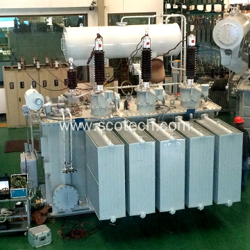 15MVA 66/11KV three phase oil immersed power transformer