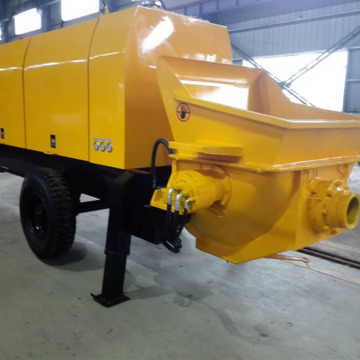 Cement Trailer Hydraulic Portable concrete Pump