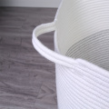 Wholesales Large Cotton Rope Woven Laundry Storage Basket